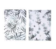 Urban Nature Culture Flor Verde Urban Nature Culture theedoek (50x70 cm) (set van 2) Multi