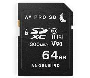Angelbird SD Card UHS-II 64GB 2er Pack (AVP064SDX2)