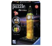 Ravensburger 3D Puzzel - Big Ben - Night Edition (216 stukjes)