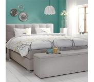 Cinderella Boxspring Cinderella Belle Firm Talalay Grey-200 x 200 cm
