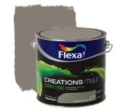 Flexa Creations muurverf spacious grey extra mat 2,5 liter