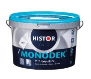 Histor Monodek latex wit 2,5 liter