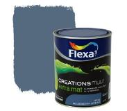 Flexa Creations muurverf blueberry dream extra mat 1 liter