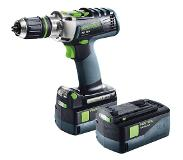 Festool PDC 18/4 Li 5,2 Plus accu klopboormachine 18V Li-ion