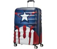 American tourister Wavebreaker Marvel Spinner 77 captain america close-up Harde Koffer