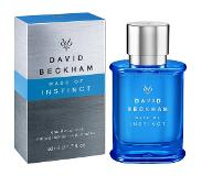 David Beckham Instinct Eau De Toilette Vapo Man 50ml