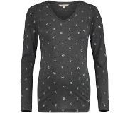 Noppies Shirt Mia - Anthracite Melange - Maat XS