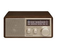 Sangean WR-11BT Zilver, Walnoot radio