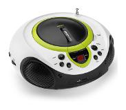 Lenco SCD-38-USB Personal CD player Groen