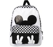 Vans Realm Backpack Mickey white/black