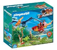 Playmobil The Explorers - Helikopter met Pteranodon 9430