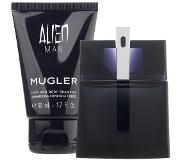 Thierry Mugler Alien Man EdT 50ml (Refillable) + Showergel 50ml Geurset