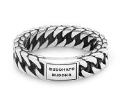 Buddha to buddha Ring Esther Small Maat 17 zilver 611