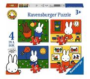 Ravensburger Nijntje Puzzel (4 in a box)