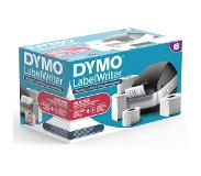 Dymo LabelWriter Wireless zwart + 4 rollen labels