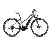 Cube Cross Hybrid One 400 Allroad 2019 Dames - 54 cm - Iridium/Blue