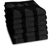 Ddddd Keukendoek DDDDD Foodbar Black (set van 6)
