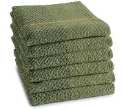 Ddddd Keukendoek DDDDD Blend Olive Green (set van 6)