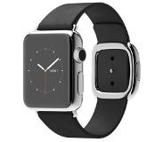 Apple Watch Series 1 Smartwatch 38mm - Roestvrij Staal - Zwart Moderne gesp