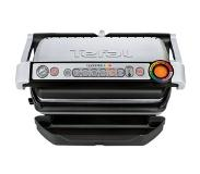Tefal OptiGrill GC716D - Contactgrill + wafelplaten