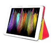 Puro Apple iPad Mini 2 Retina Bi-Color Booklet Case With Magnet Stand-Up - Geel/Roze
