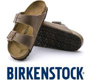 Birkenstock Arizona Tabacco Brown Slippers Heren Size : 46