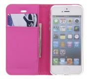 Accezz Booklet iPhone 5 / 5s / SE - Pink