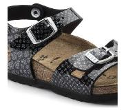 Birkenstock Rio Magic Snake Black-Silver Sandalen Kids Size : 34