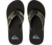 Quiksilver Slippers Heren Monkey Abyss - Green/Brown/Black - 13 (46)