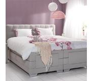 Cinderella Boxspring Cinderella Giselle Medium Talalay Grey-180 x 200 cm