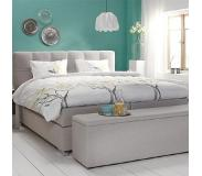 Cinderella Boxspring Cinderella Belle Firm Talalay Grey-180 x 200 cm