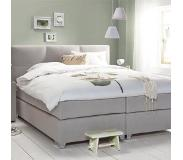 Cinderella Boxspring Cinderella Jasmine Medium Talalay Grey-180 x 200 cm