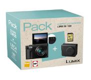 Panasonic compact camera LUMIX TZ90 INCL. TAS EN 8GB SD-KAART |
