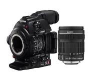 Canon EOS C100 Mark II + EF 18-135mm IS STM