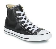 Converse All Star Hi Leather 132170C Zwart maat 36