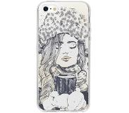 Smartphonehoesjes.nl Design Backcover iPhone SE / 5 / 5s hoesje - Winter Girl