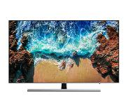 "Samsung NU8009 (2018) LED TV 124,5 cm (49"") 4K Ultra HD Smart TV Wi-Fi Zwart, Zilver"