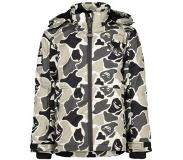 Superrebel Meisjes jacks Superrebel Ski jacket camo print 116