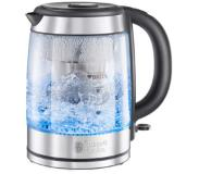 Russell Hobbs Clarity waterkoker 1,5 l Roestvrijstaal, Transparant 2200 W