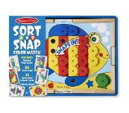 Melissa & Doug - Sort-And-Snap Colour Match