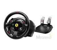 Thrustmaster T300 Ferrari GTE Stuurwiel + pedalen PC, Playstation 3, PlayStation 4 Zwart