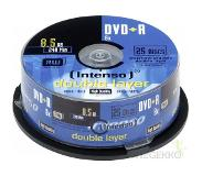 Intenso DVD+R 8.5GB 8x Double Layer 25er Cakebox 8,5 GB 25 stuk(s)