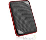 Silicon Power 2TB Rugged Armor A62 IPX4 waterbestendig/ schokbestendig, 2.5 inch Type-C/ USB 3.0 Military GRADE Aluminium Portable Hard Drive