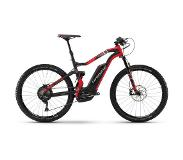 "Haibike XDURO FullSeven Carbon 9.0, carbon/red/silver matte 45cm (27.5"") 2018 Elektrische Fully's"