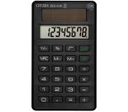 Citizen ECC-110 Pocket Basisrekenmachine Zwart calculator