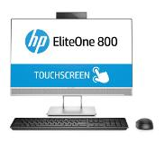 "HP EliteOne 800 G4 60,5 cm (23.8"") 1920 x 1080 Pixels Touchscreen Intel 8ste generatie Core i5 i5-8500 8 GB DDR4-SDRAM 256 GB SSD Zilver Alles-in-één-pc"