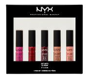 NYX Holiday Pout Glam Vibes Make-upset