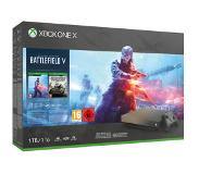 Microsoft Xbox One X 1TB – Gold Rush Special Edition Battlefield V Bundle Zwart 1000 GB Wi-Fi