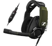 Sennheiser Gaming headset 7.1 Surround USB Kabelgebonden Sennheiser GSP 550 Over Ear Zwart