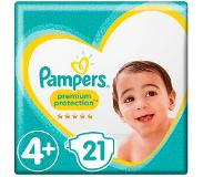 Pampers Premium protection maxi plus S4+